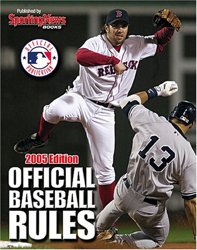9780892047727: Official Baseball Rules 2005 Edition