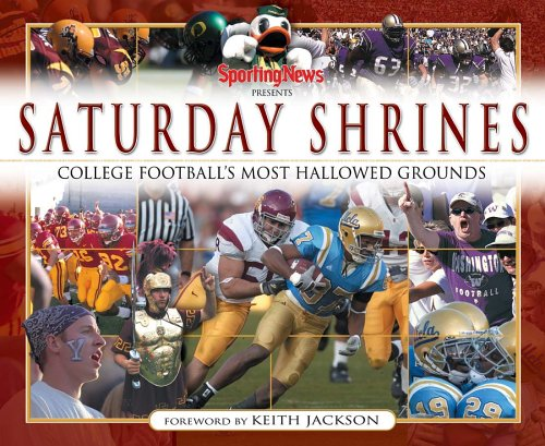 9780892048069: Saturday Shrines: Best of College Football's Most Hallowed Grounds
