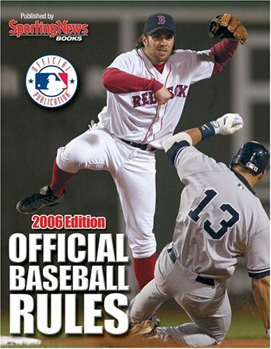 9780892048175: Official Baseball Rules 2006 Edition