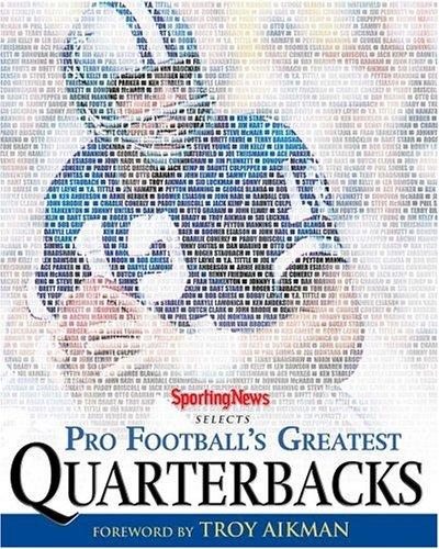 9780892048199: Pro Football's Greatest Quarterbacks: Roger Staubach Cover