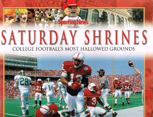 9780892048403: Saturday Shrines: College Football's Most Hallowed Grounds (University of Nebraska Cover)