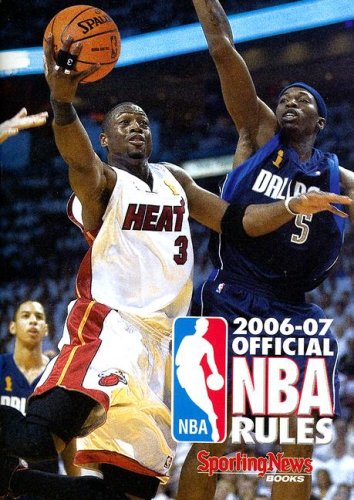 9780892048557: Official NBA Rules 2006-07