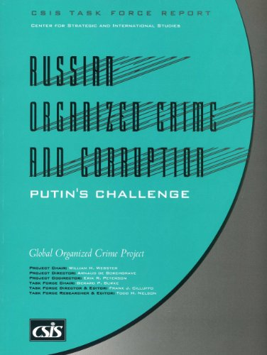 9780892063727: Russian Organized Crime and Corruption: Putin's Challenge (CSIS Task Force Reports)