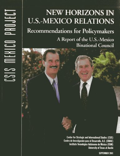 9780892063970: New Horizons in U.S.-Mexico Relations: Recommendations for Policymakers (CSIS Reports)