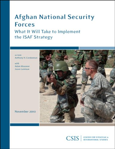 9780892066087: Afghan National Security Forces