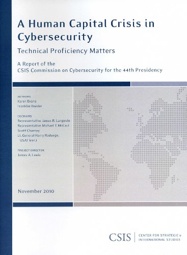 9780892066094: A Human Capital Crisis in Cybersecurity: Technical Proficiency Matters (CSIS Reports)