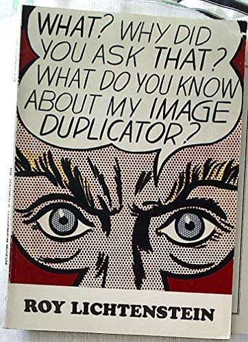 9780892071098: Roy Lichtenstein