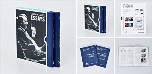 9780892081707: Edwin H. Land's Essays (3 Volume Set)