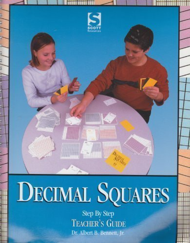 9780892121878: Decimal Squares: Step by Step Teacher's Guide