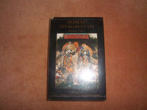 9780892130672: Srimad Bhagavatam: First Canto. Part Three-Chapters 13-19.