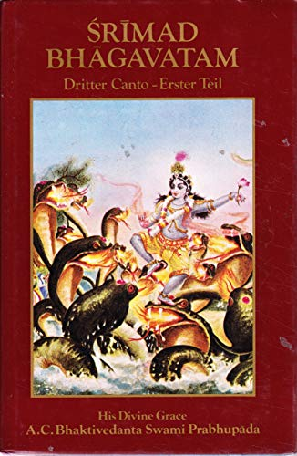 9780892130689: Srimad Bhagavatam Dritter Canto. Erster Teil