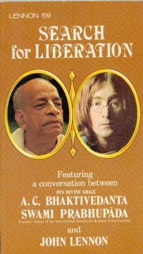 9780892131099: Search for liberation: Featuring a conversation between John Lennon and Swami Bhaktivedanta