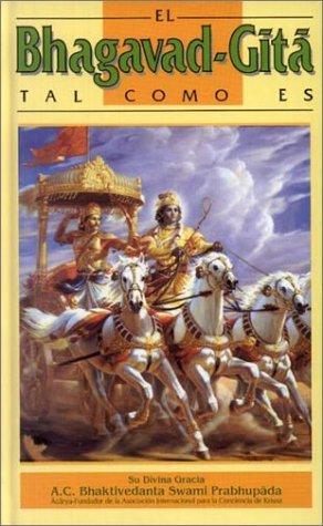 9780892131730: El Bhagavad-Gita Tal Como Es