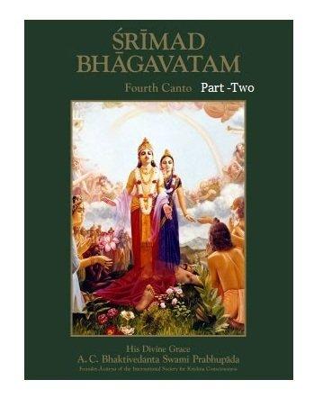 9780892132553: Srimad Bhagavatam Fourth Canto Part Two