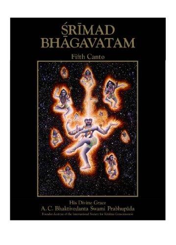 Srimad Bhagavatam Fifth Canto (v.7): A. C. Bhaktivedanta