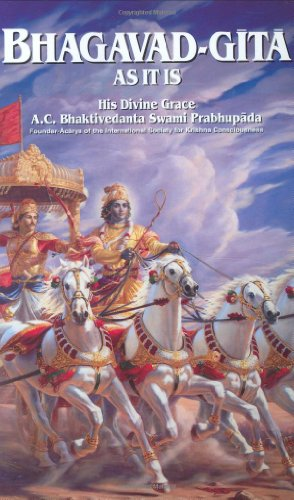 9780892132683: Bhagavad-Gita As It Is: With the Original Sanskrit Text Roman Transliteration English Equivalence Translation and Elaborate Purports