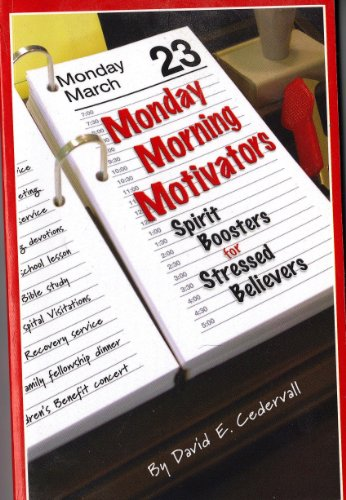 9780892161164: Monday Morning Motivators Spirit Boosters for Stressed Believers