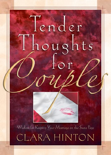 9780892215201: Tender Thoughts for Couples: Wisdom for Keeping Your Marriage on the Same Page