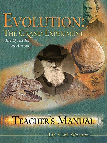 9780892216840: Evolution: The Grand Experiment Teacher's Manual