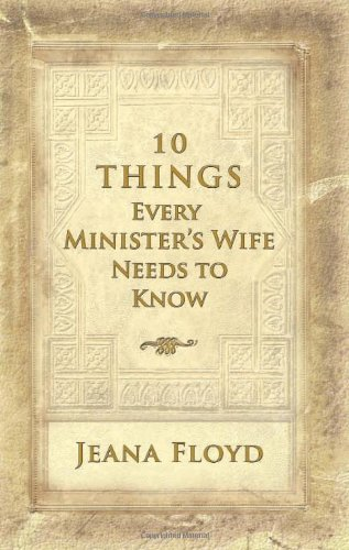 9780892216987: 10 Things Every Minister's Wife Needs to Know