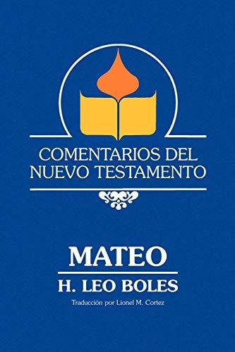 9780892253944: Un Comentario Sobre el Evangelio Segun Mateo