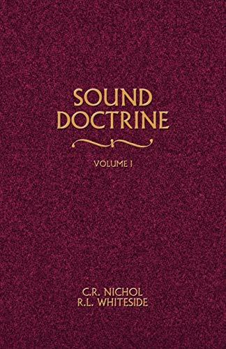 9780892254804: Sound Doctrine Vol. 1