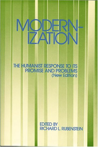 9780892260317: Modernization: The Humanist Response to Its Promise & Problems