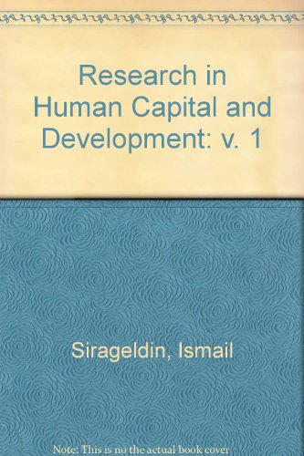 Research in Human Capital and Development : Frank, Richard