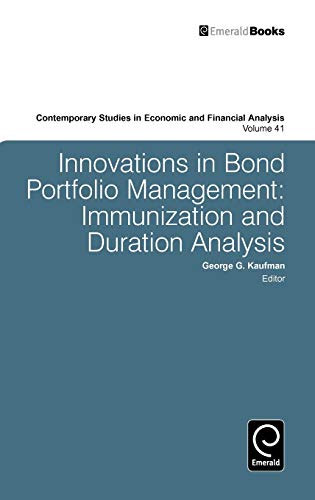 9780892323203: Innovations in Bond Portfolio Management: Immunization and Duration Analysis (Contemporary Studies in Economic and Financial Analysis)