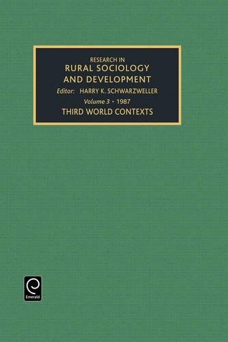 9780892325863: Research in rural sociology and development, Volume 3