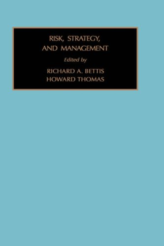 9780892328017: Risk, Stratergy and Management Vol 5 (Strategic Management Policy and Planning, Vol 5)