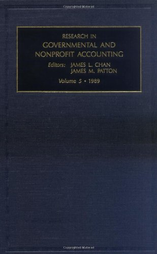 9780892329755: Research in Governmental and Nonprofit Accounting: Vol 5 (Research in Governmental and Non-Profit Accounting)