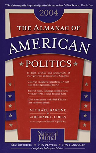 9780892341054: The Almanac of American Politics, 2004