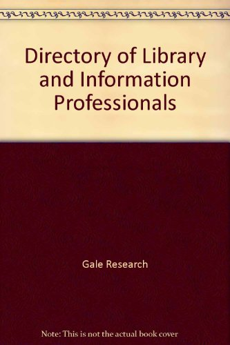 9780892351251: Directory of Library and Information Professionals