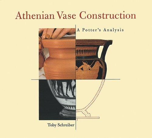 9780892364664: Athenian Vase Construction: A Potter's Analysis (Getty Trust Publications: J. Paul Getty Museum)