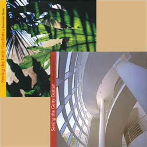 9780892365555: Seeing the Getty Center: Buildings & Gardens (Box Set)