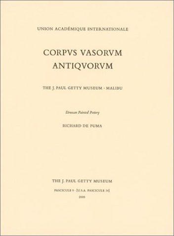 9780892366088: Corpus Vasorum Antiquorum: Fascicule 9
