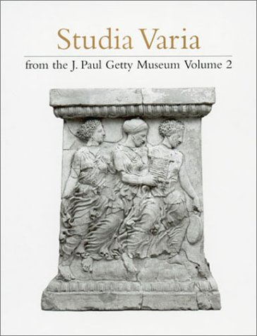 Studia Varia from the J. Paul Getty: Marion True, Mary