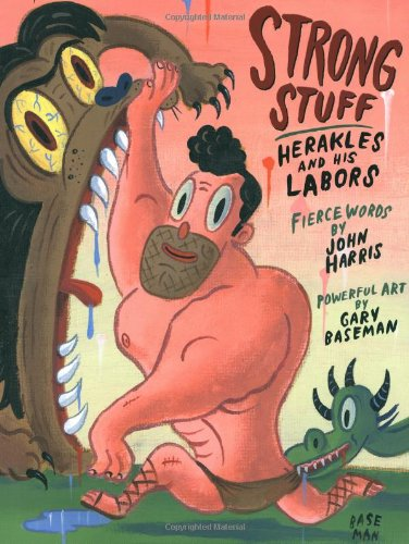 9780892367849: Strong Stuff: Herakles and His Labors (Pop Up)