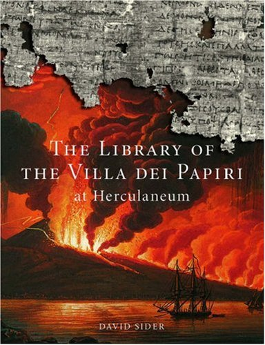 9780892367993: The Library of the Villa Dei Papiri at Herculaneum