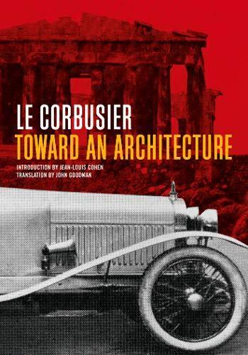 9780892368228: Toward an Architecture