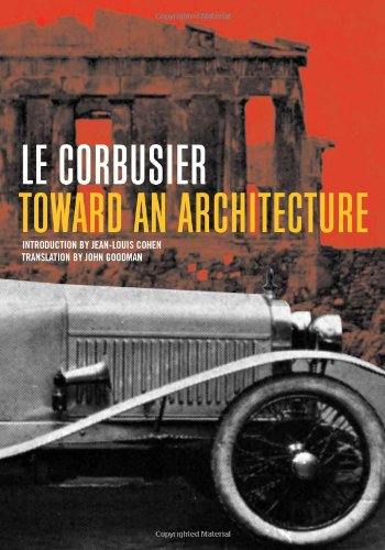 9780892368990: Toward an Architecture (Getty Research Institute)