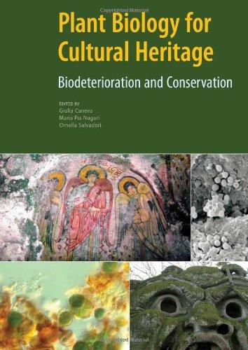 9780892369393: Plant Biology for Cultural Heritage - Biodeterioration and Conservation
