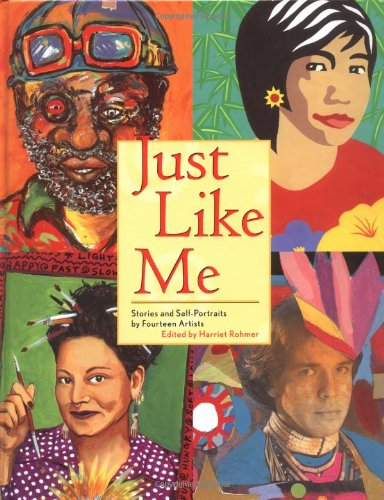 9780892391493: Just Like Me: Stories and Self-Portraits by Fourteen Artists