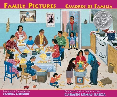 9780892392070: Family Pictures/Cuadros de Familia