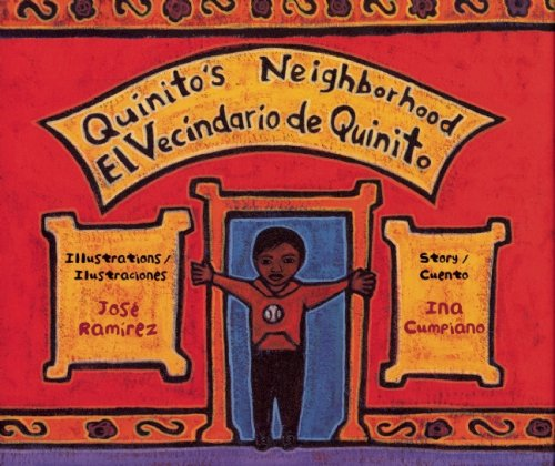 9780892392292: Quinito's Neighborhood: El Vecindario de Quinito