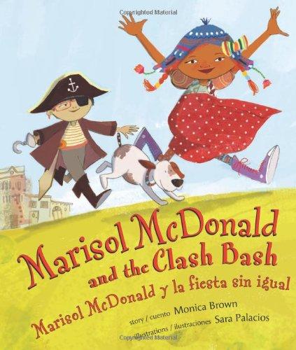 Marisol McDonald and the Clash Bash: Marisol McDonald y la fiesta sin igual (English and Spanish ...