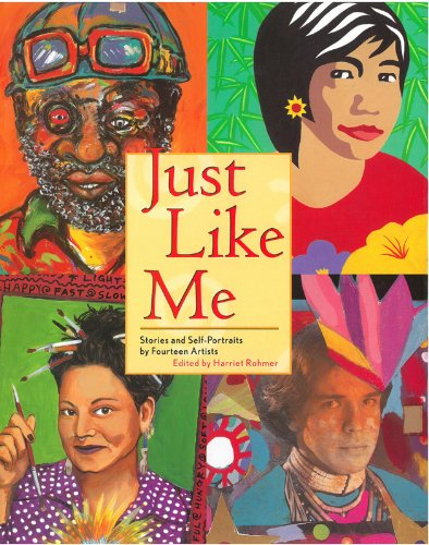 9780892392773: Just Like Me: Stories and Self-Portraits by Fourteen Artists