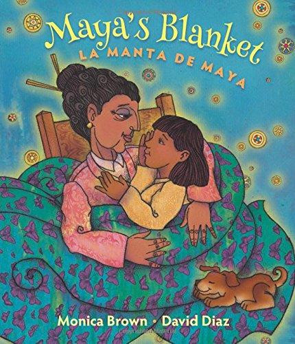 9780892392926: Maya's Blanket: La Manta de Maya