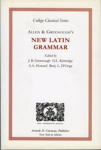 9780892413317: Allen & Greenough's New Latin Grammar (College Classical Series)